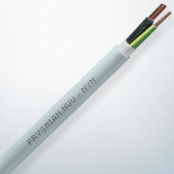 Prysmian - 3x1,5 mm 2 NVV (NYM) 300/500 V Eca kh-mv-yş/sr