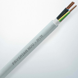 Prysmian - 3x2,5 mm 2 NVV (NYM) 300/500 V Eca kh-mv-yş/sr